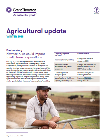 Agriculture news Feb18