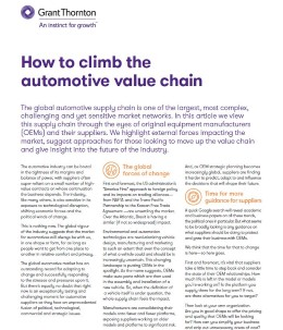 auto value chain