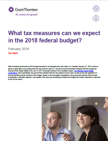 budget 2018 predictions