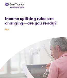 income splitting rules