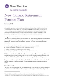 ontario retirement cover