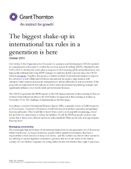 beps shakeup cover