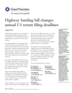 highway funding bill cover
