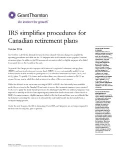 canadian retirement plans cover
