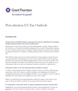 post election tax cover