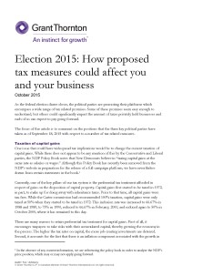 tax election platform cover