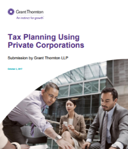 tax planning private company cover