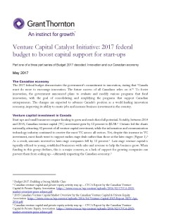 venture capital cover