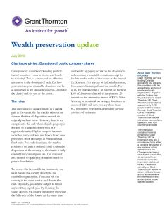 wealth preservation update PDF cover