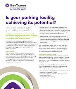 parking facility cover
